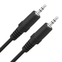 Link Depot 3.5mm Male to Male Audio Cable, 12'
