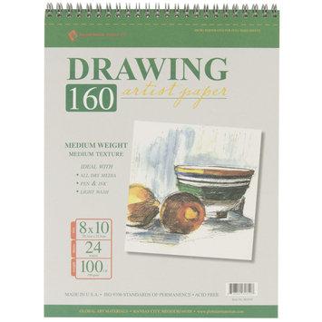 Global Art Drawing Pad 100# 24 Sheets/Pkg-8 X10