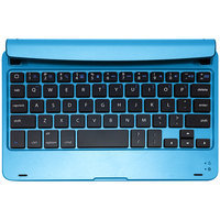 Hype ALUMINUM HYIPA-MINIKB-AQUA BLUETOOTH KEYBOARD CASE AND STAND FOR IPADMINI