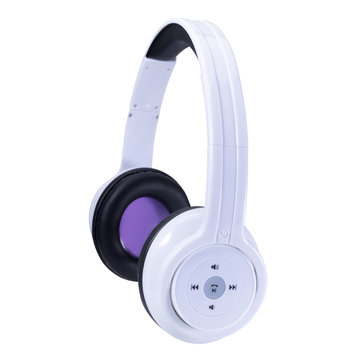 Craig Rechargeable Stereo Headphones w/ Bluetooth Connectivity