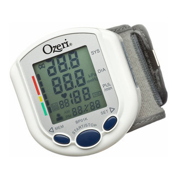 Ozeri BP01K CardioTech Pro Series Digital Blood Pressure Monitor with Heart Heal