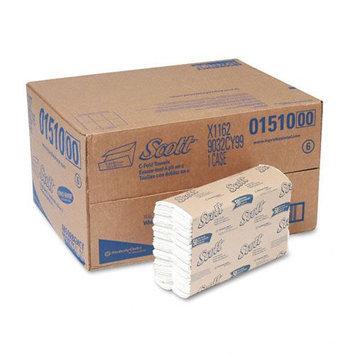 Kimberly-Clark SCOTT C-Fold Paper Towels, White, 200/Pk, 12/Ctn