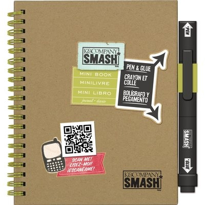 Eksuccess Brands Play Mini SMASH Book-With Pen And Glue