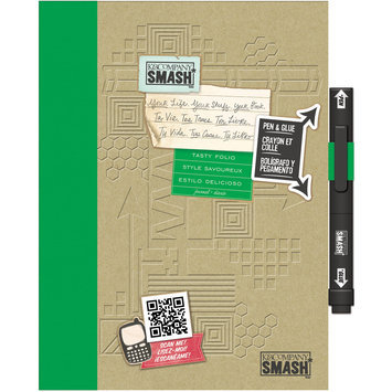 Eksuccess Brands SMASH Tasty Folio 40 Pages-With Pen And Glue