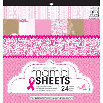 Me & My Big Ideas MAMBI Sheets Specialty Cardstock 12