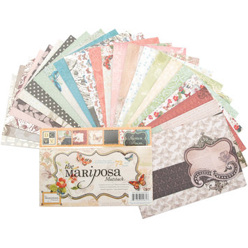 Diecuts With A View Mat Stack 4.5X6.5 72/Pkg-Mariposa
