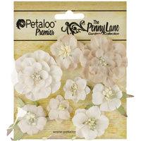 Petaloo Penny Lane Mixed Blossoms 8/Pkg-Antique Beige