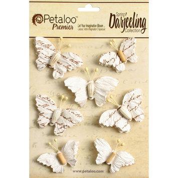 Regal Imports, Inc. Wild Butterflies 7/Pkg White