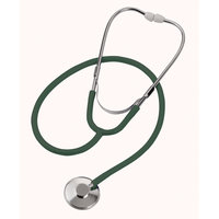 Mabis Healthcare Mabis 10-428-250 Spectrum Nurse Stethoscope - Adult Hunter Green