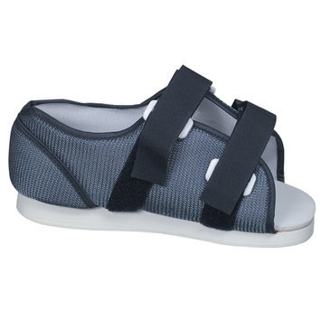 BRIGGS HEALTHCARE Mabis Blue Mesh Post-Op Shoe for Women 530-6045-0123