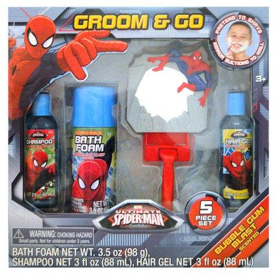 Marvel Entertainment Group Marvel Ultimate Spider-Man Groom & Go Gift Set, 5 pc