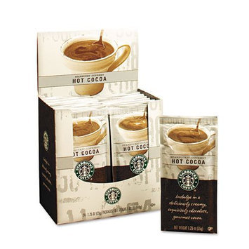 Starbucks Gourmet Hot Cocoa, 1.25oz Packet, 24/Box