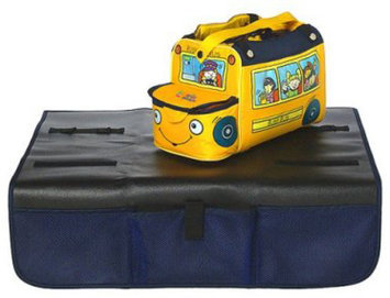 The First Years Tomy First Years 3-in-1 Non-slip Seat Protector and Toy Box, Model# 3064 Black