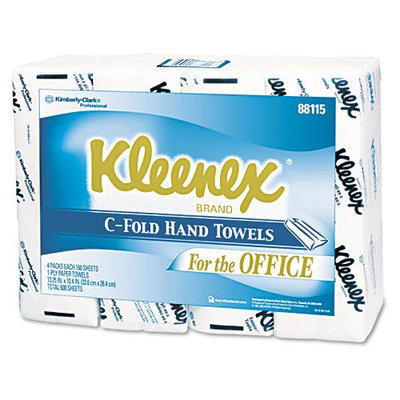 Kimberly-clark SCOTT C-Fold Paper Towels, White, 150/Pk, 16/Ctn