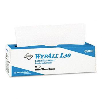 Kimberly-clark WYPALL L30 Economy Wipes, 100 per Bx, 8 per Carton