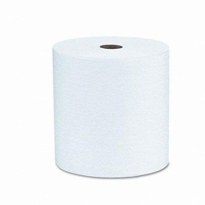 Kimberly-Clark KCC 01040 Scott Hard Roll Towel 8X800 1P White - Case of 12