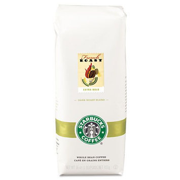 Starbucks 11018187 Coffee French Roast Ground 1 lb. Bag