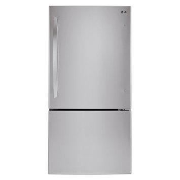 LG Electronics 24 cu. ft. Bottom Freezer Refrigerator in Stainless Steel LBC24360ST
