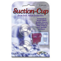 Superpet pets International Pets International Ltd. Pts Bottle Flat-Bac Suction Cups 2 pk.