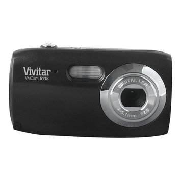 VIVITAR V5118-LIC 5.1 Megapixel V5118 Digital Camera (Black)