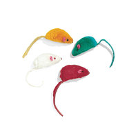 Ethical Cat Fur Mice Assorted 4 Pack - 2024