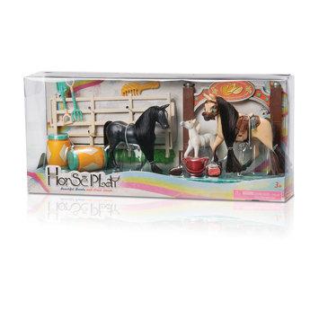 Lanard Toys Limited Black/Brown Family Champions Horse Set