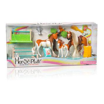 Lanard Toys Limited Palomino/Paint Family Champions Horse Set