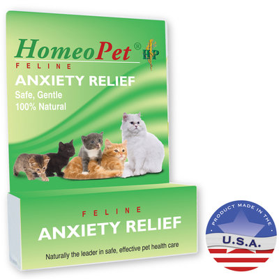 Homeopet Llc Homeopet Anxiety Relief Feline