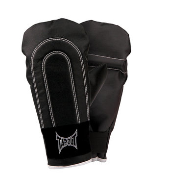 Topo-logic Systems, Inc. TapouT Lightweight Boxing Bag Gloves Black