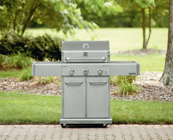 Kenmore Elite 500 Series 3-Burner Dual-Fuel Gas Grill