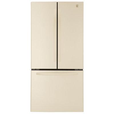 23.6 cu. ft. French Door Bottom-Freezer Refrigerator - Bisque