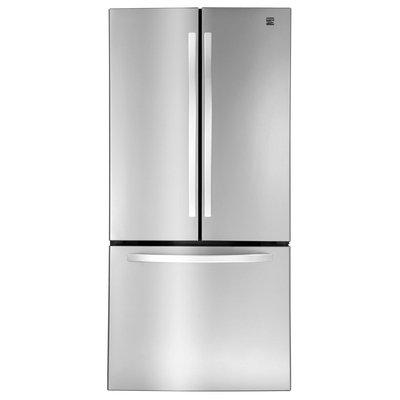 23.6 cu. ft. French Door Bottom-Freezer Refrigerator - Stainless Steel