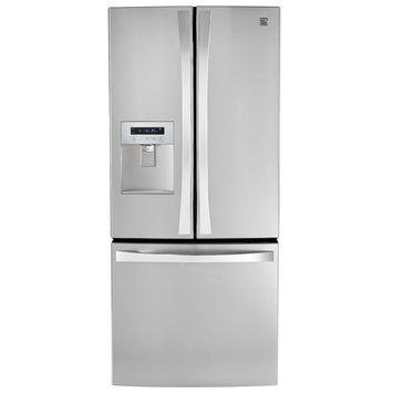 21.6 cu. ft. French Door Bottom-freezer Refrigerator w/ Water Dispenser - Stainless Steel