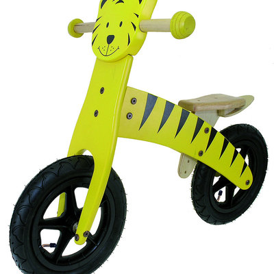 Cycle Force Tiger Wooden Foot-To-Floor Running Bike