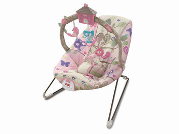 Fisher Price Comfy Time Bouncer - Tree Party