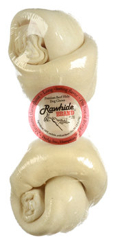 Pet-ag, Inc. Rawhide Brand® Natural Round Safety Knot™ Bone, 6