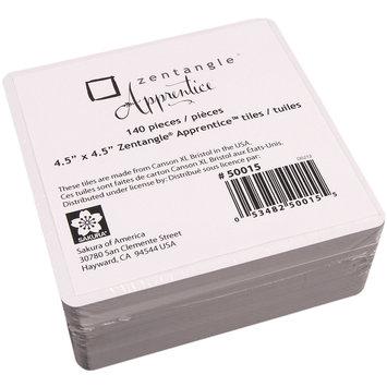 Sakura 4.5x4.5 Apprentice Refill Zentangle Tiles - Pack of 140
