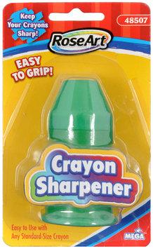 Rose Art RoseArt Handheld Grip Crayon Sharpener - Handheld - 1 Hole(s) - Plastic - Assorted