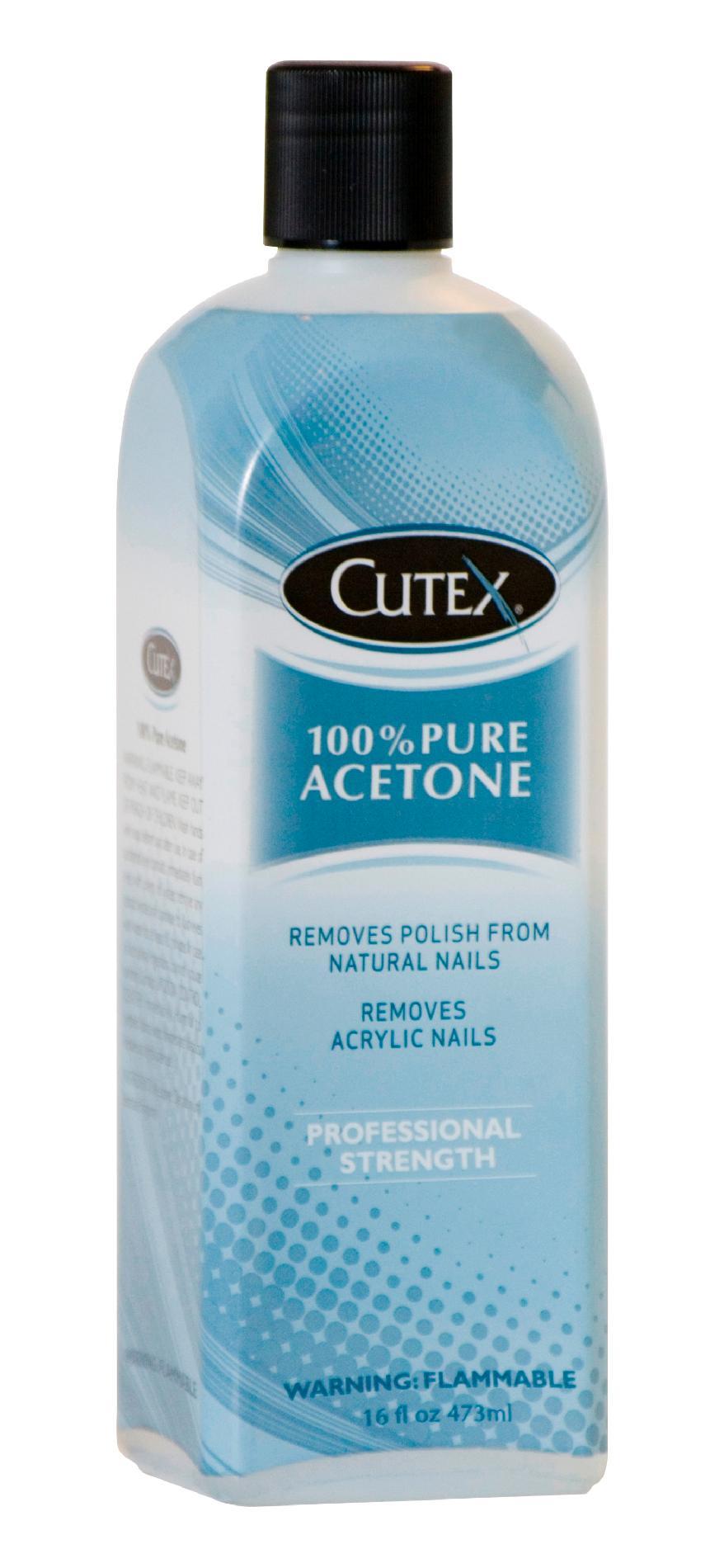 Cutex 16 Oz 100% Pure Acetone