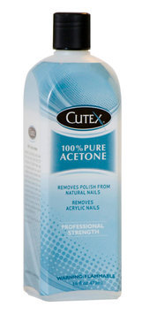 Cutex 16 Oz 100% Pure Acetone
