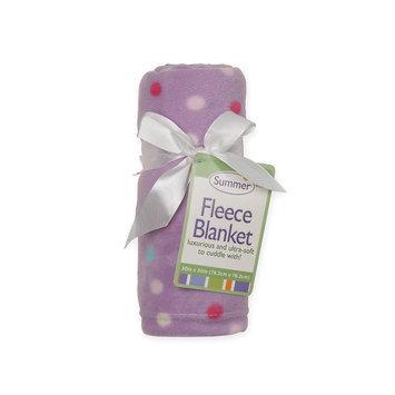 Summer Infant Products, Inc. Infant Girl's Fleece Blanket - Polka Dot