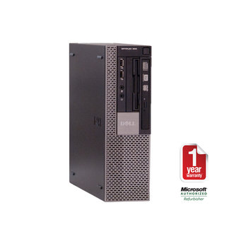 Joy Systems, Inc Dell 960 refurbished small form factor C2D 3.0/4096/320/DVDRW/W7HP