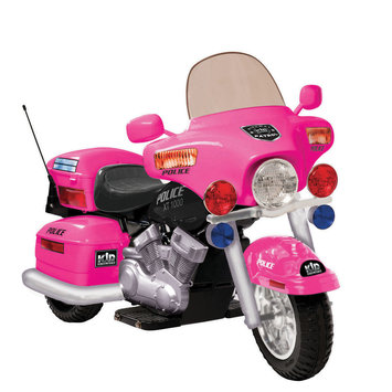 National Products Limited 0957 12V Patrol H. Police in Pink