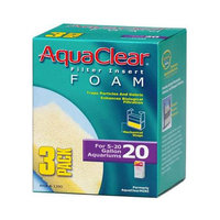 Imagine Gold Foam Insert Aqua Clear 20 3pk