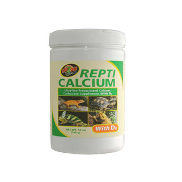 Zoo Med Laboratories Zml Supplement Repti Calcium w/D3 12 oz.