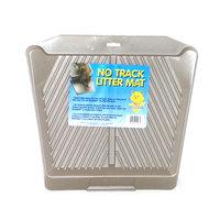 Aspen Booda Pet Products Aspen Pet Products Inc. Asp Litter Mat No Track Titanium