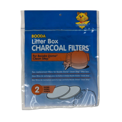 Booda Clean Step Filters 2Pk 2-pack