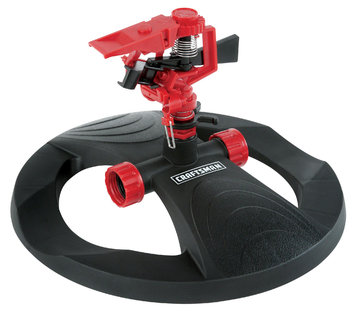 Pulsating Sprinkler with Weighted Base