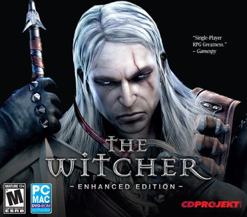 ENCORE 33521 THE WITCHER ENHANCED EDITION JC -WIN XPVISTAWIN 7-MAC 10.6 OR LATER