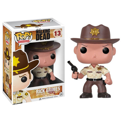 Funko Pop! Walking Dead Rick Grimes Vinyl Figure